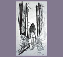 Girl In The Woods Kids Tee