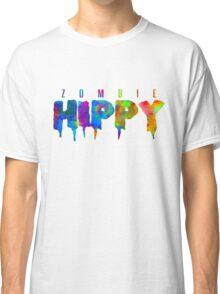 ZombieHIPPY • Logo Typeface TIE DYE Classic T-Shirt