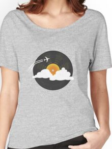 Sunburst Records Women's Relaxed Fit T-Shirt