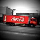 Coke truck by technokitty