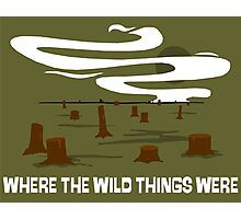 Where the Wild Things Were Photographic Print