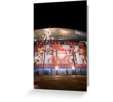 Emirates Stadium Arsenal Football Greeting Card