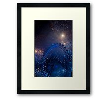 Fireworks in London Framed Print