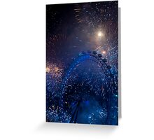 Fireworks in London Greeting Card
