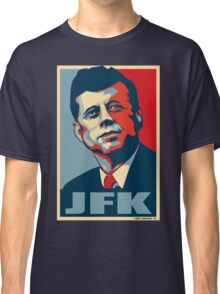 JFK Shepard Hope Style Poster Classic T-Shirt