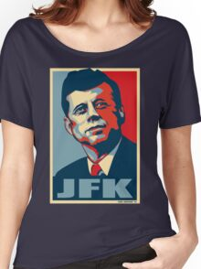JFK Shepard Hope Style Poster Women's Relaxed Fit T-Shirt