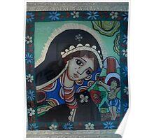 Virgin Mary  woebegone Poster