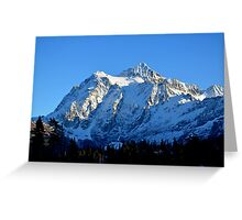 Another view of Mount Shuksan Greeting Card