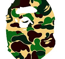 Bape Camo military 2 by goldney09