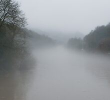 Fog over the Severn by John Hallett