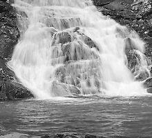 Cedar Creek Falls - after December rain (No. 1) by Ian Colley