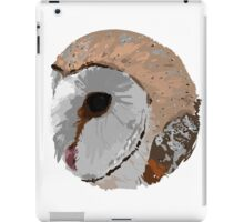 Barn Owl Circle iPad Case/Skin