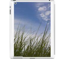 Grass, Clouds, Wind (Vertica) iPad Case/Skin