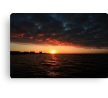 1/1/11 sunrise Canvas Print