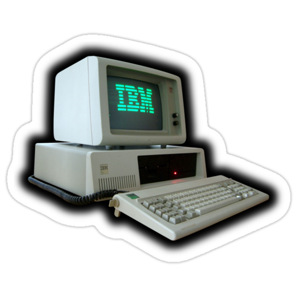 IBM Computer by Bradley John Holland