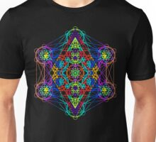 Infinity Cube Rainbow Unisex T-Shirt
