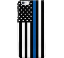 Thin Blue Line iPhone Case/Skin