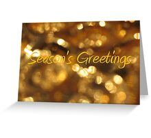 Season's Greetings - JUSTART © Greeting Card