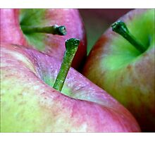 Three Apples a Day Photographic Print