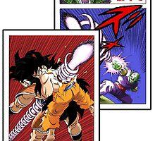 Dragonball Z, Saiyan saga strip. by Veldranol