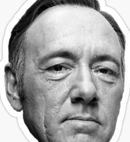 Kevin Spacey Head Sticker