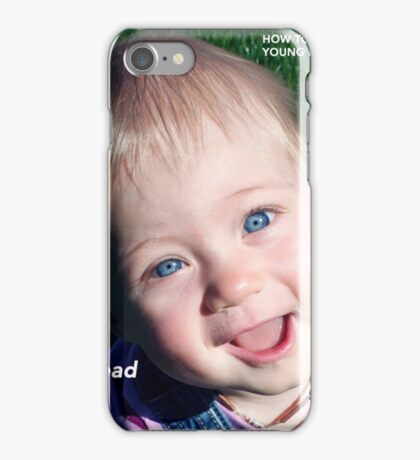 How To Stay Young #5 – SPREAD JOY iPhone Case/Skin