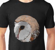Barn Owl Circle Unisex T-Shirt