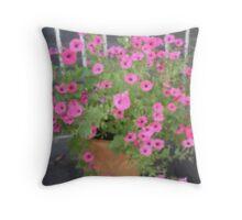 Pink Fantasia -Corel Photo painter Throw Pillow