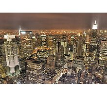 New York After Dark Photographic Print