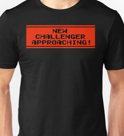 The New Challenger is Approaching Unisex T-Shirt