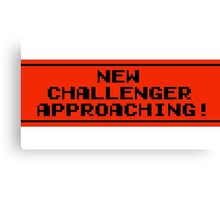 The New Challenger is Approaching Canvas Print