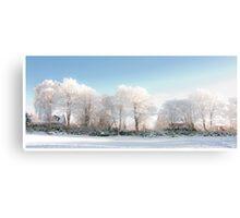 Scotland in Winter Canvas Print