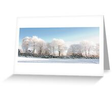 Scotland in Winter Greeting Card