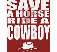 save a horse Photographic Print