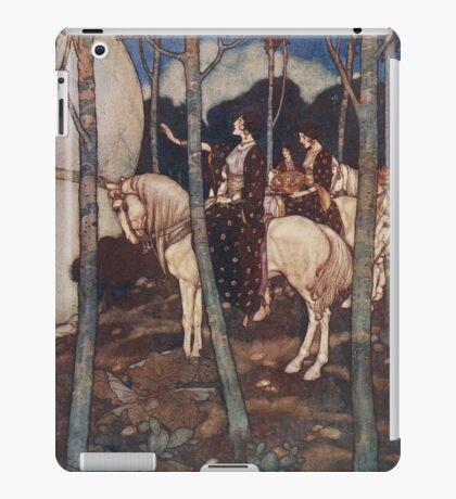 Maidens on white horses. iPad Case/Skin