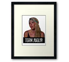 Team Juelia Framed Print
