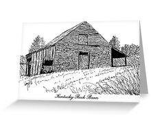 Kentucky Rock Barn Greeting Card