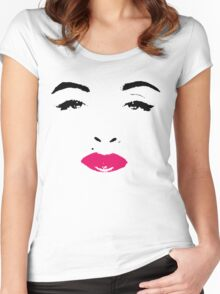 Who's That Girl? Women's Fitted Scoop T-Shirt