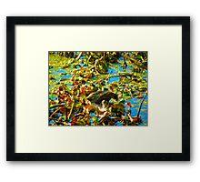 River Buffet Framed Print
