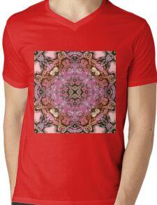 purple mandala Mens V-Neck T-Shirt