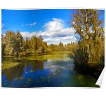 Lazy River Afternoon Poster