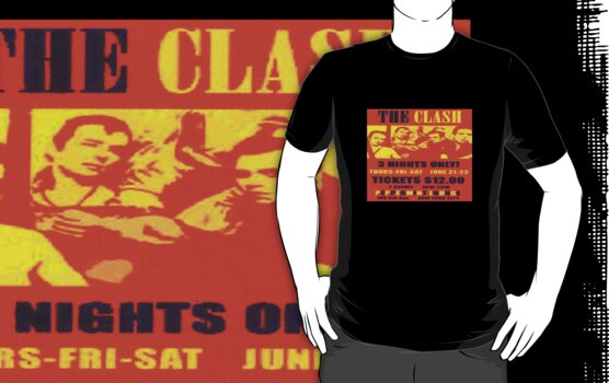 The Clash T Shirt by cheezeT