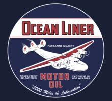 Ocean Liner Motor Oil Kids Tee