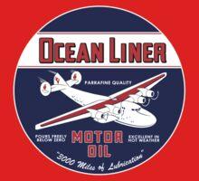 Ocean Liner Motor Oil One Piece - Short Sleeve