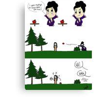 Regina's Revenge Canvas Print