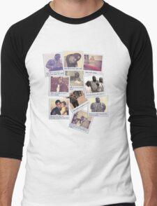 10 crack commandments  Men's Baseball ¾ T-Shirt