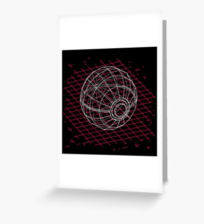 Digital Pokeball Greeting Card