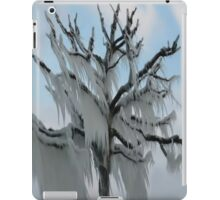 TREE COVERED IN ICE DURING A WINTER STORM-PILLOWS-TOTE BAG-TEE SHIRT- CARD- PICTURE ECT... iPad Case/Skin