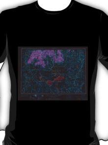USGS Topo Map Oregon Burns 283304 1955 250000 Inverted T-Shirt