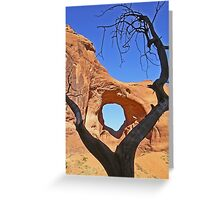 Tunnel Arch Greeting Card